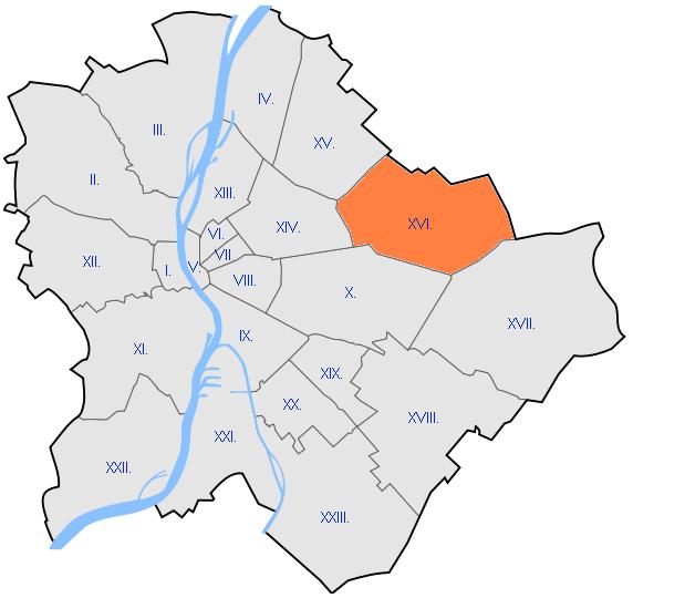 16 kerület térkép Burkolás Budapest XVI. kerület I burkolás Rákosszentmihály  16 kerület térkép